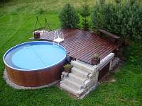 Bazén - chalupa ubytování Zdobnice - Souvlastní