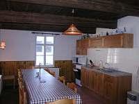 Kuchyň - chalupa ubytování Červená Voda - Moravský Karlov