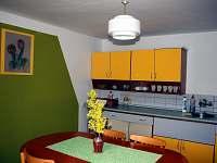 Kuchyň - chalupa ubytování Těchonín