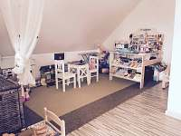 dětský koutek - chata k pronájmu Anenská Studánka - Helvíkov