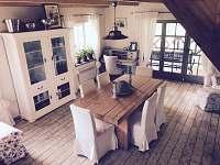 obývací místnost - Anenská Studánka - Helvíkov