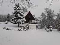 Chata ubytování v Českých Petrovicích