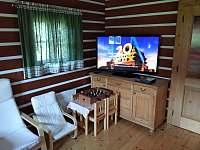 Obývací pokoj - chalupa k pronajmutí Orlické Záhoří