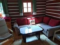 Obývací pokoj - chalupa ubytování Orlické Záhoří