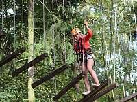 Lanový park - Říčky v Orlických horách