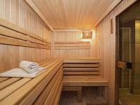 Sauna přilehlého hotelu