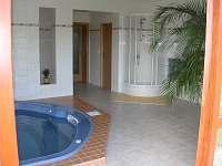 relaxační místnost s vířivkou