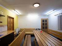 společenská místnost s dětským koutkem - apartmán k pronájmu České Petrovice
