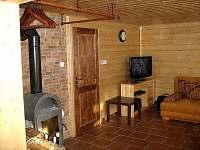 společenská místnost - pronájem chalupy Olešnice v Orlických horách