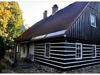 vchod - chalupa ubytování Olešnice v Orlických horách