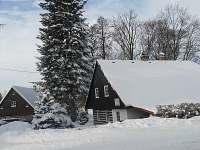 zima na chaloupce - k pronájmu Olešnice v Orlických horách