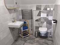 koupelna v černém apartmánu - Králíky - Horní Lipka