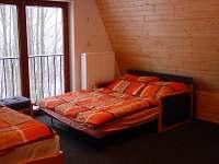 obývací pokoj rozložená sedačka - chata k pronajmutí Čenkovice