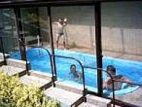 bazén - chata k pronajmutí Javornice