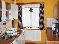 kuchyň - chata k pronájmu Javornice