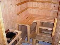 sauna - chata ubytování Javornice