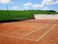 tenisový kurt - chata ubytování Javornice