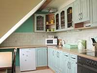 Kuchyň 2. apartmán - Rokytnice v Orlických horách