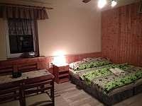 Dvoulůžkový pokoj s kuchyňkou - vila k pronájmu Pastviny