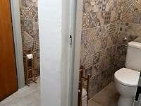 dva záchody - chalupa k pronájmu Olešnice v Orlických horách