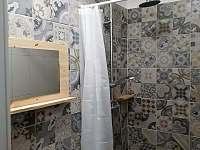 prostorné sprchy - Olešnice v Orlických horách