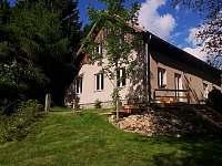 zahrada pouze pro velkou chalupu - ubytování Olešnice v Orlických horách
