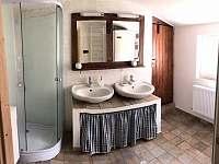 koupelna v přízemí - Olešnice v Orlických horách