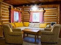 sezení a přistýlka - chalupa ubytování Olešnice v Orlických horách