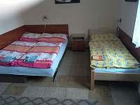Ložnice APT 1 - apartmán k pronájmu Orličky - Čenkovice