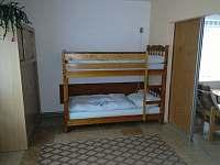 Ložnice APT 1 - pronájem apartmánu Orličky - Čenkovice