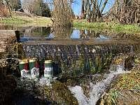 Přírodní chlazení nápojů - Orlické Záhoří