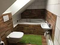 koupelna 1 patro - Olešnice v Orlických horách