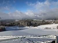 výhled ze sjezdovky - Olešnice v Orlických horách