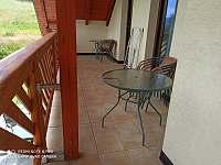 U Krejčích balkón - rekreační dům k pronájmu Deštné v Orlických horách