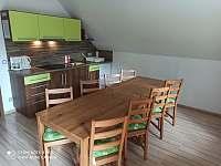 U Krejčích kuchyně - pronájem rekreačního domu Deštné v Orlických horách