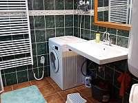 Koupelna - chalupa ubytování Výprachtice