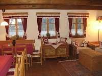 Chalupa Dolní Hedeč interiér - ubytování Dolní Hedeč