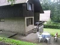 Chata u přehrady Pastviny - ubytování Pastviny