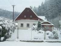 Chalupa, zimní pohled
