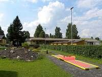 Minigolf v Areálu zdraví Dolní Črmná (3km)