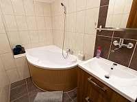 Horní koupelna - rekreační dům k pronajmutí Dolní Lipka