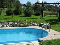 bazén u apartmánu