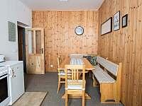 apartmán č. 3 - kuchyň - Čenkovice