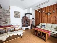 společenská místnost - chalupa ubytování Čenkovice