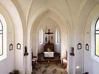 Interiér kaple sv. Anny - Zdobnice - Kunčina Ves
