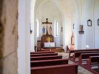 Interiér kaple sv. Anny II - Zdobnice - Kunčina Ves