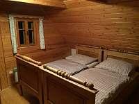 Pokoj č.2 v patře - chalupa ubytování Kamenice u Dobrého