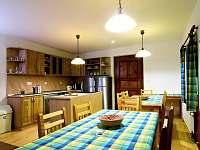kuchyně - chalupa k pronajmutí Bartošovice v Orlických Horách - Nová Ves