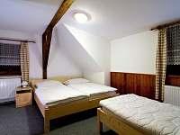 pokoj patro 1 - pronájem chalupy Bartošovice v Orlických Horách - Nová Ves