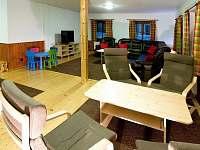 společenská místnost 1 - chalupa ubytování Bartošovice v Orlických Horách - Nová Ves